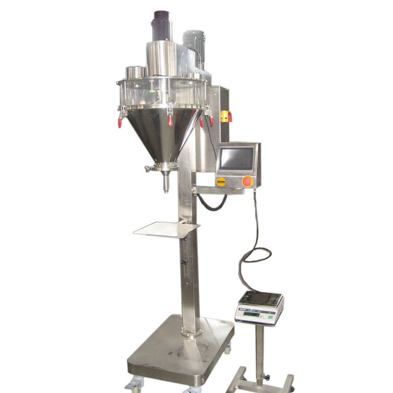 FILLINGmachine Stand-Alone Auger Filler 10-500g connected weigher