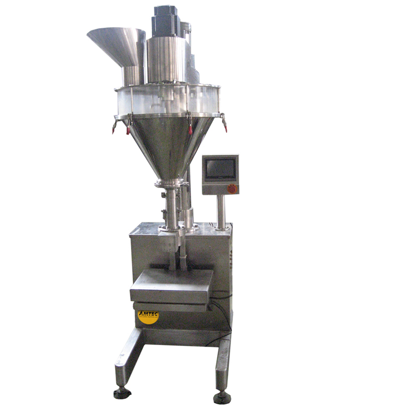 FILLINGmachine Stand-Alone Auger Filler 10-5000g load cell