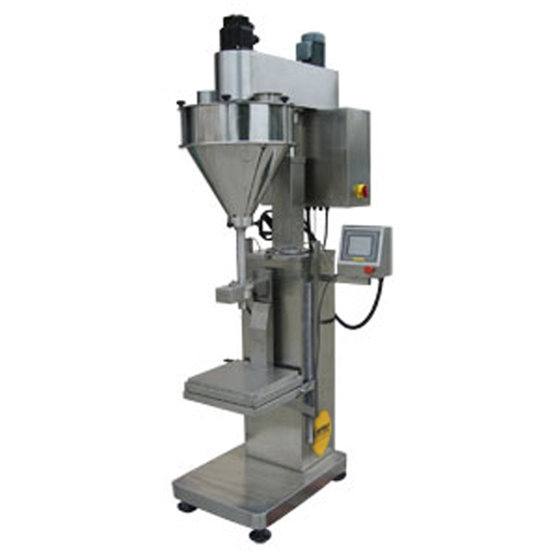 FILLINGmachine Stand-Alone Auger Filler 1.000-50.000g load cell - dual speed