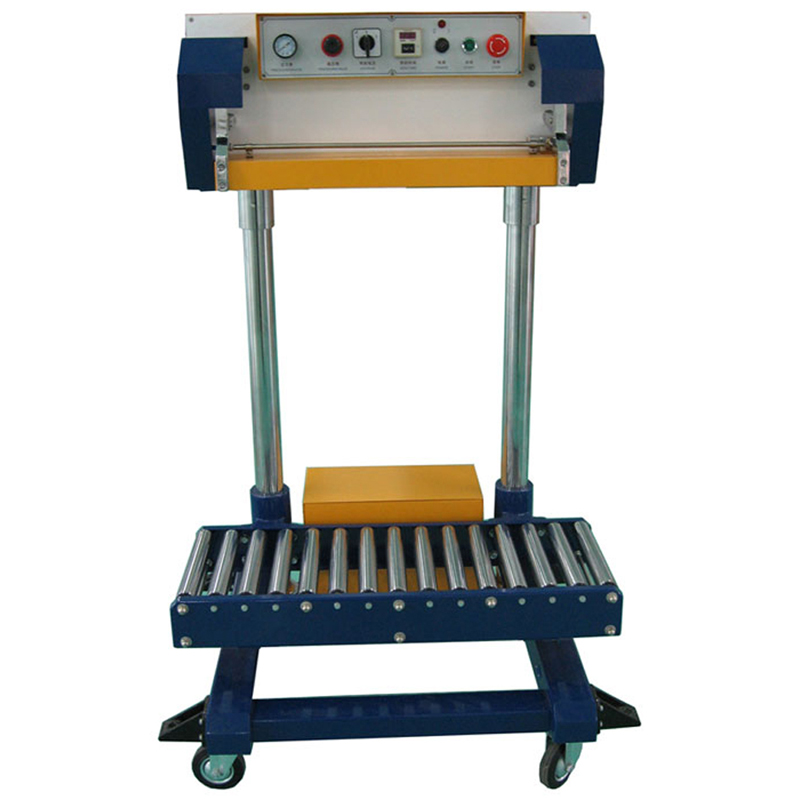 FILLINGmachine Heat Sealer with non-motorized conveyor for large 10-50kg bags