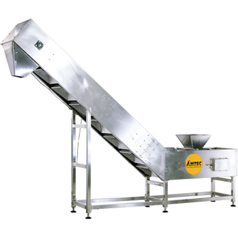 VERTIwrap infeed semi automatic conveyor