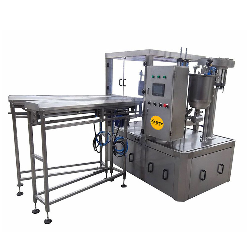 AMTEC HORIZONpack Rotary Doypack Filling and Capping Machine SP 33