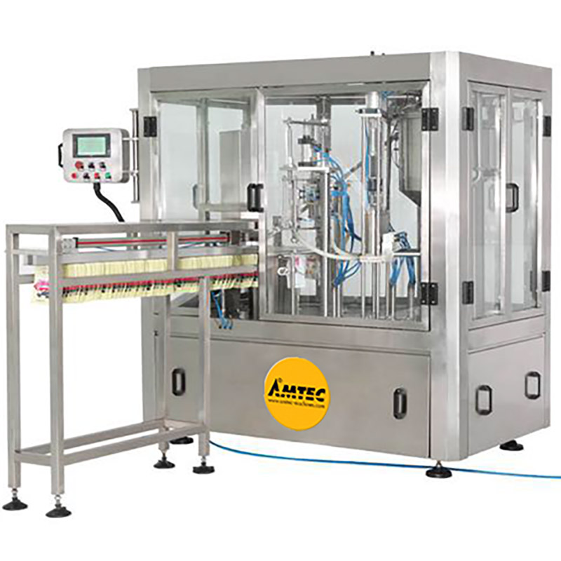 AMTEC HORIZONpack Rotary Doypack Filling and Capping Machine SP 108