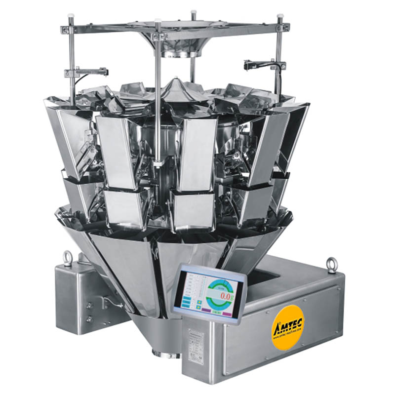 AMTEC VERTIwrap Multihead Weigher 10-Head (2.5 Liter) IP66 waterproof