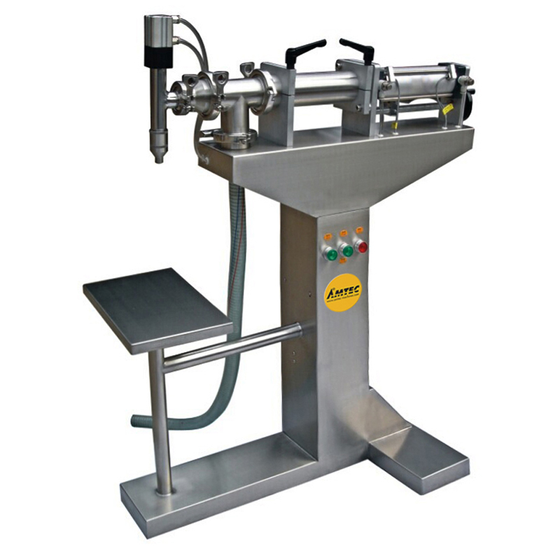 Zoom: FILLINGmachine Stand-Alone Liquid Filler Upright Version 50-250ml