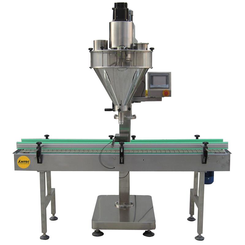 Zoom: FILLINGmachine Basic Automatic Linear Auger Filler 10-5000g separate weigher