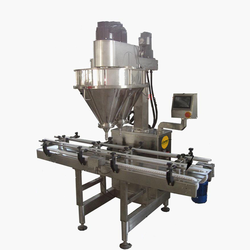 Zoom: FILLINGmachine Basic Automatic DUAL Linear Auger Filler 10-5000g separate weigher