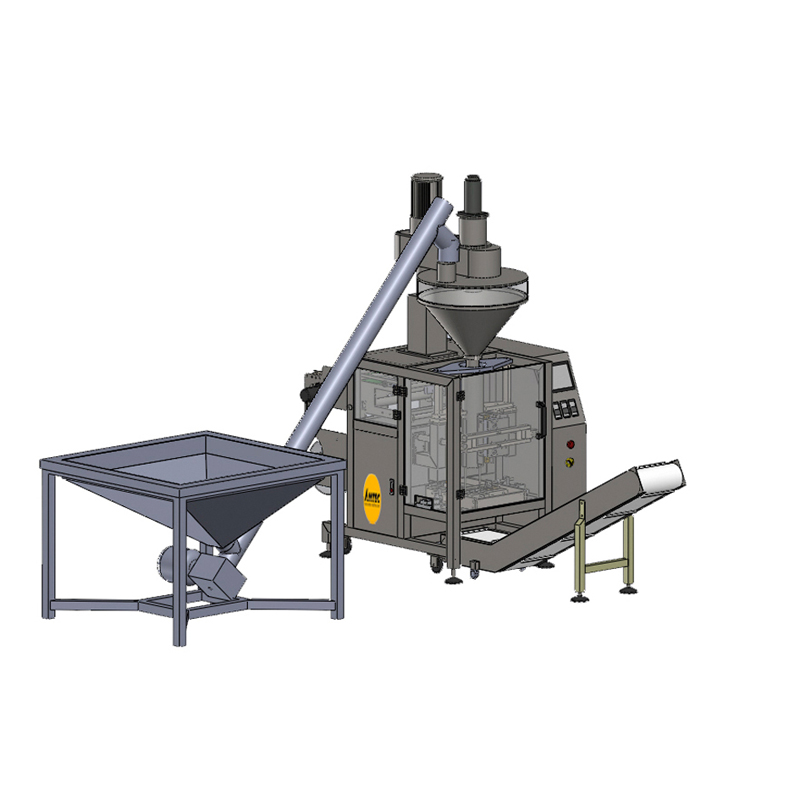 Zoom: VERTIwrap VIC-Complete-System Screw-Conveyor - Auger - Packaging (Powder)