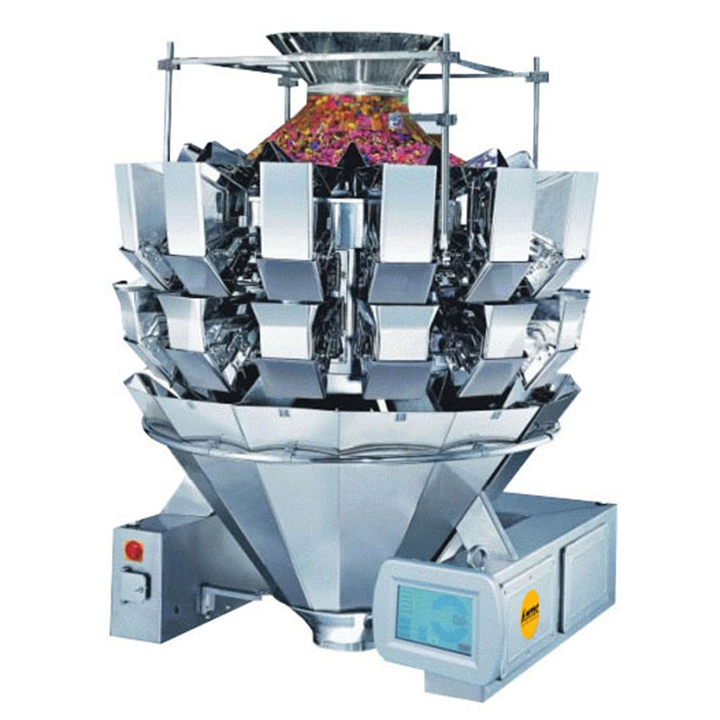 Zoom: VERTIwrap weigher 14-head (2.5 liter) double door weigher