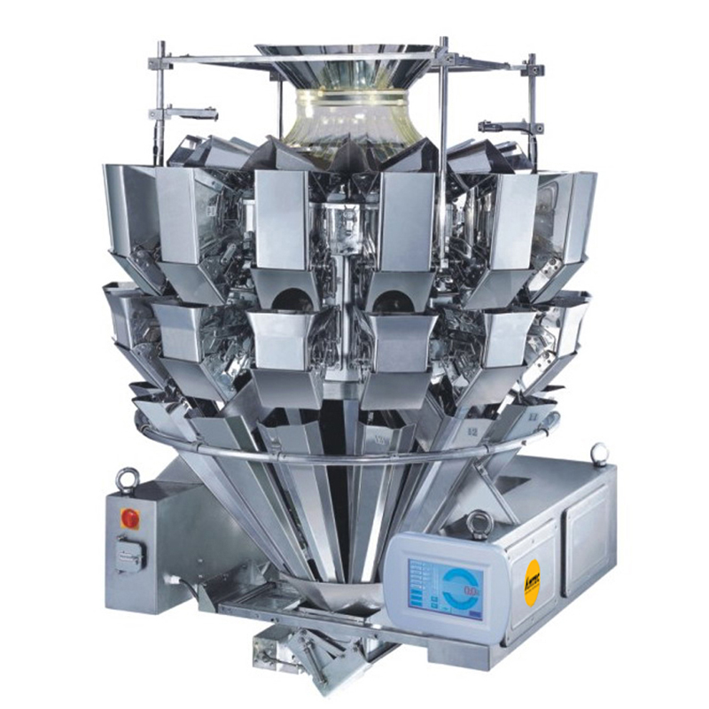 Zoom: VERTIwrap weigher 14-head (2.5 liter) stick shaped products
