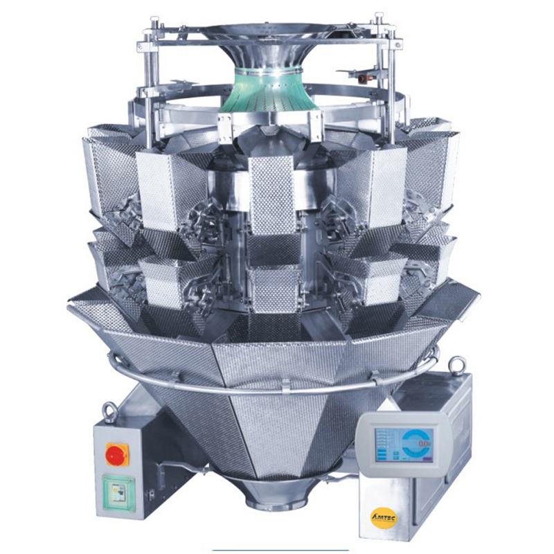 Zoom: VERTIwrap weigher 14-head (2.5 liter) pasta products