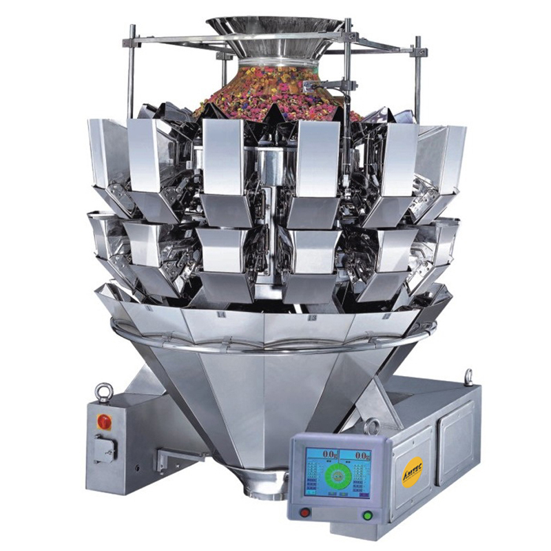 Zoom: VERTIwrap weigher 10-head (2.5 liter) high speed