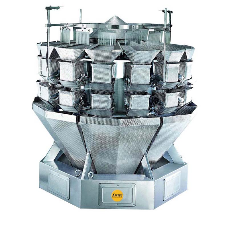 Zoom: VERTIwrap weigher 14-head (5.5 liter) salad weigher