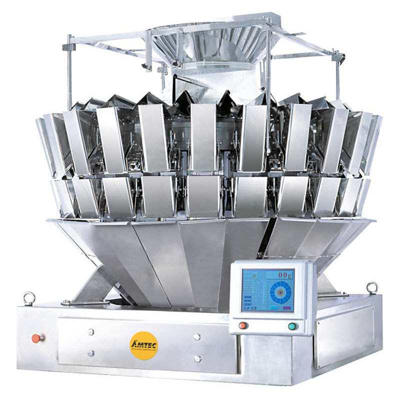 Zoom: VERTIwrap weigher 24-head (1.0 liter) mixing / high speed weigher