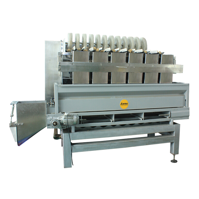Zoom: AMTEC VERTIwrap weigher 13-head 5.0 liter large linear unit (fruits, etc.)