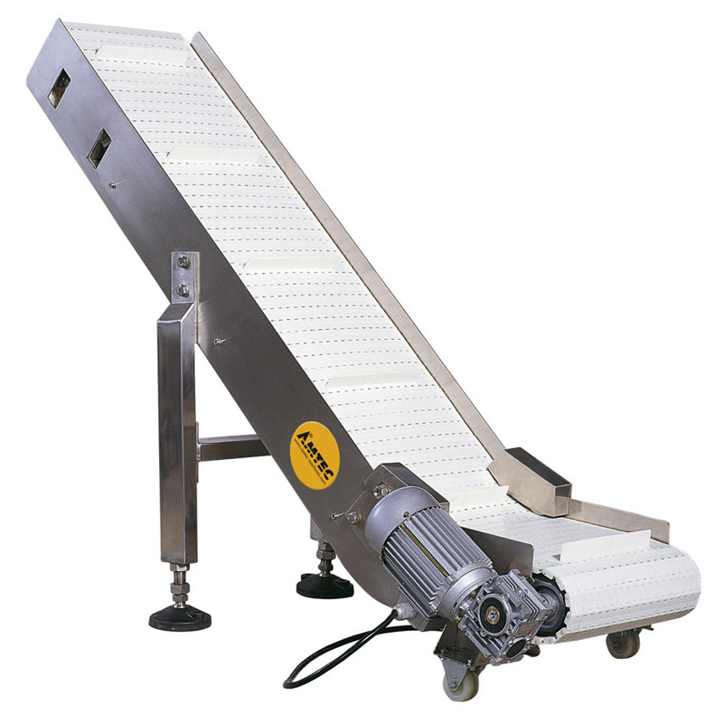 Zoom: VERTIwrap outfeed conveyor C (wider and longer)