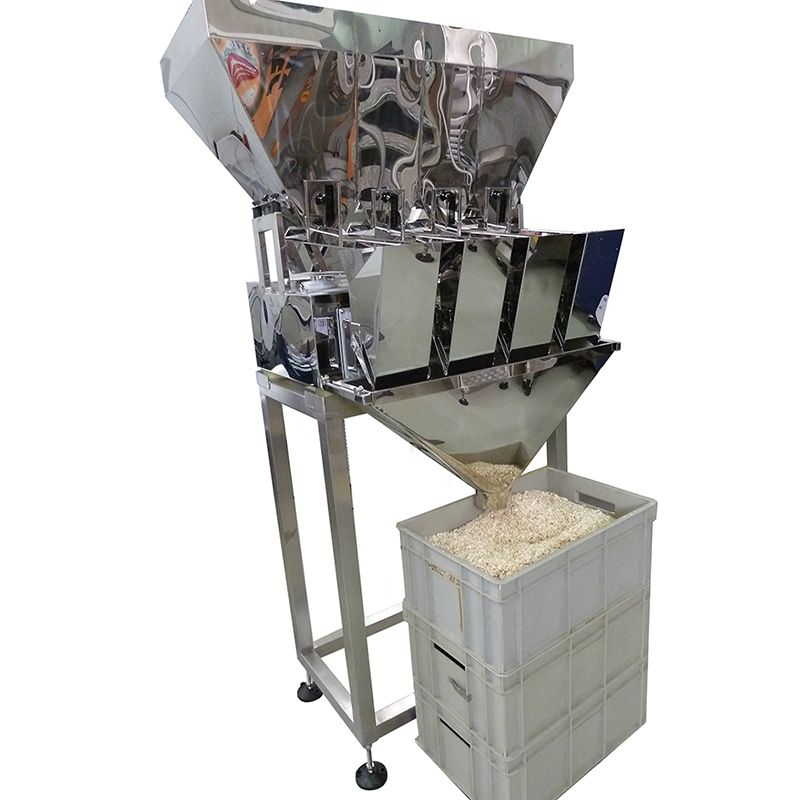 Zoom: FILLINGmachine Stand-Alone Multi Head Filler 50-1000g