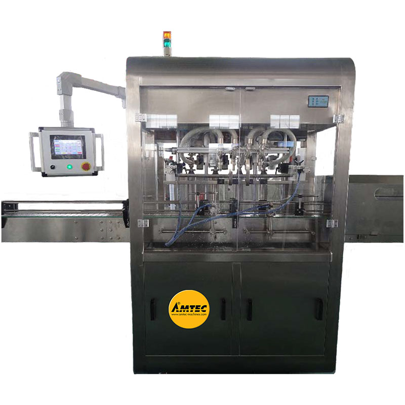 Zoom: AMTEC FILLINGmachine Fully Automatic Liquid Filler with 6 Heads (new version)
