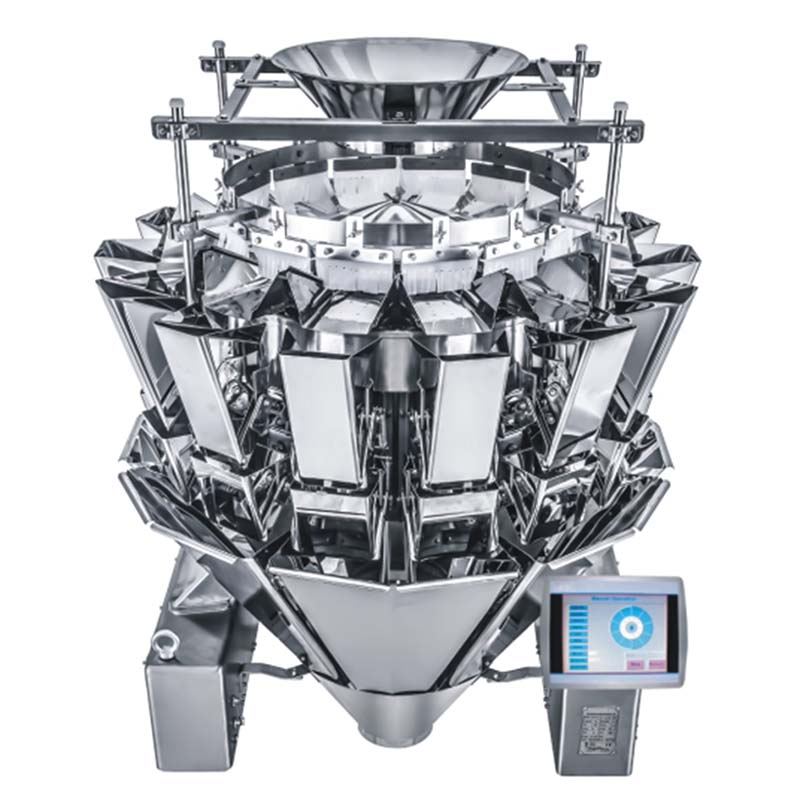 Zoom: AMTEC VERTIwrap Multihead Weigher 14-Head (2.5 Liter) IP66 waterproof